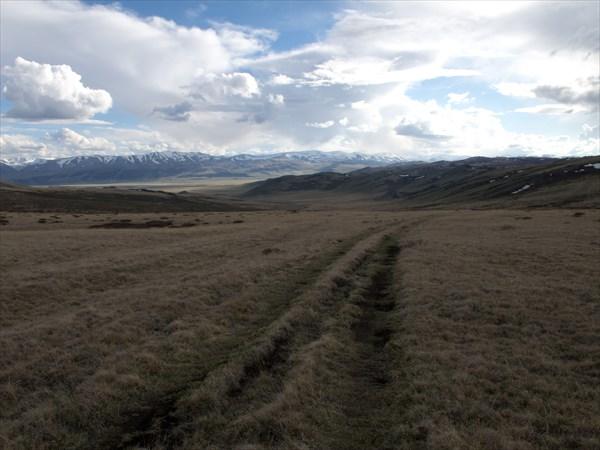 Перевал на Хиндыктиг-Холь