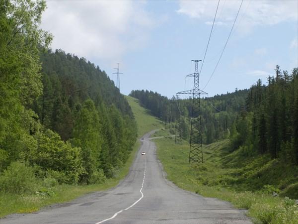 На перевал Атгольский