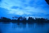 Поздний вечер на Меконге