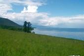 Высота озера над уровнем моря - 1449метров
