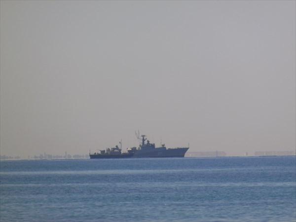 Сторожит бухту Севастополя