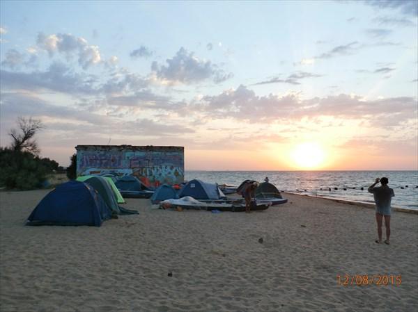 На пляже у Аршинцево