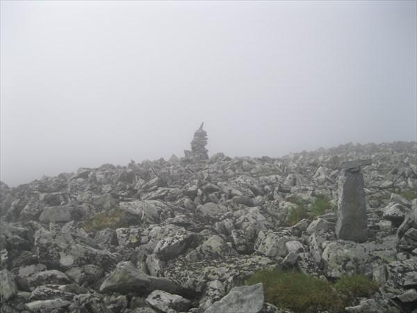 3. Перевал в тумане