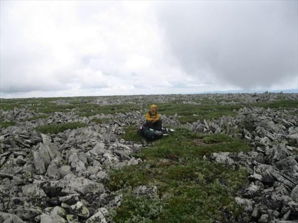 6. На плато вершины 1189