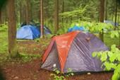 После того, как вы поставили палатку и закидали в нее вещи, дабы
