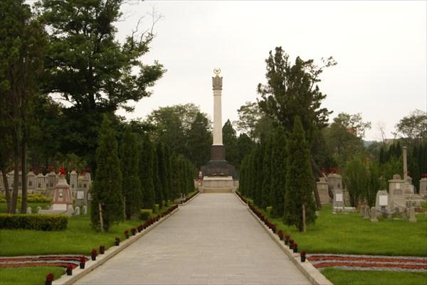 Порт-Артур. Русское кладбише