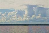 Ядерные гибы кучевых облаков.