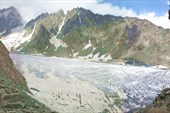 вид с перевала Хицан в сторону горы Уилпата