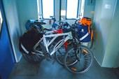 Велосипеды в тамбуре