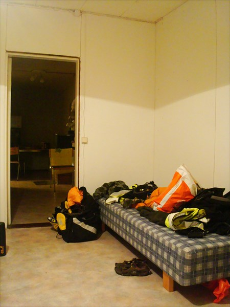 Наша комната и коридор