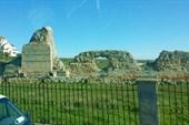 Остатки стен древнего Херсонеса
