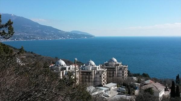 Вид на побережье с шоссе