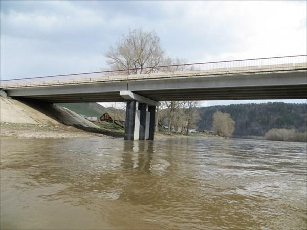 Мост через реку в Кутаново