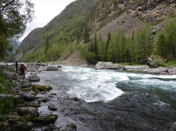 Решили просмотреть кусок реки