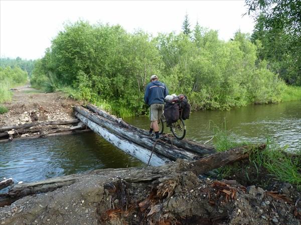 Мост через р.Голоустную .