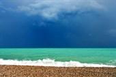 Пляж Кемера после дождичка