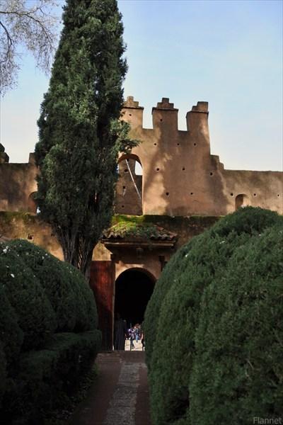 В крепости Шефшауэна