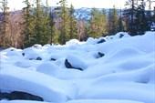 Каменная река зимой