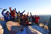 Снимок на память. Мы на вершине Таганайского массива!
