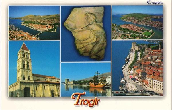 029-Трогир-открытка
