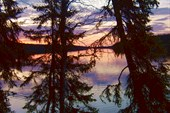 озеро Пал на закате
