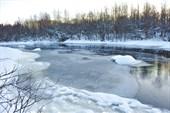Река Чурьега. Ошевенск. Фото Л.Гольдин