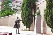 Памятник Флемингу.
