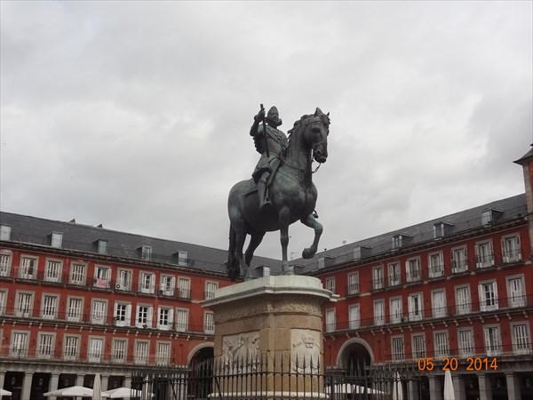 Площадь Майор. Карл III