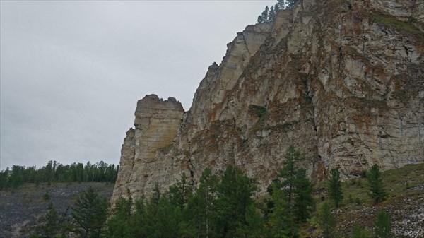 Фрагмент скал
