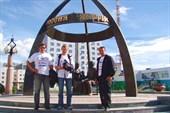 Памятник Семену Дежневу г.Якутск