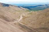 Подъем на перевал Восточный Арсеньева