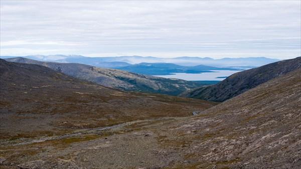 Вид с перевала Чорр-гор Южный
