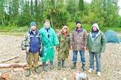 С ребятами-рыбаками из Березников.