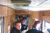 Трамвай битком