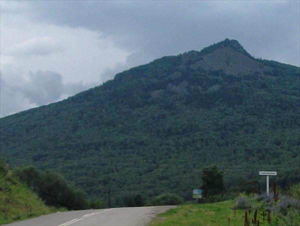 Топольное дорога к Денисовой пещере