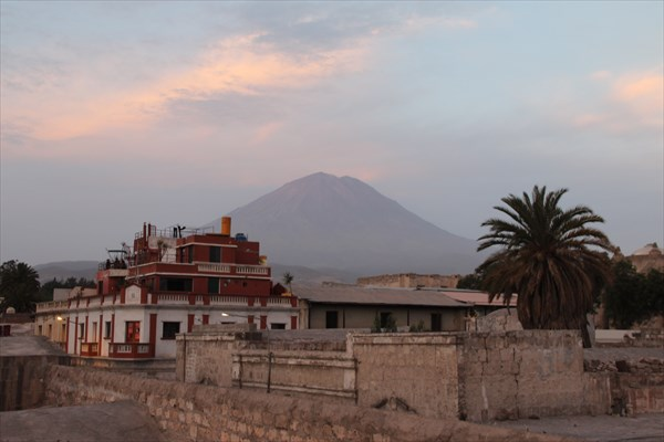 Вулкан Мисти в Арекипе