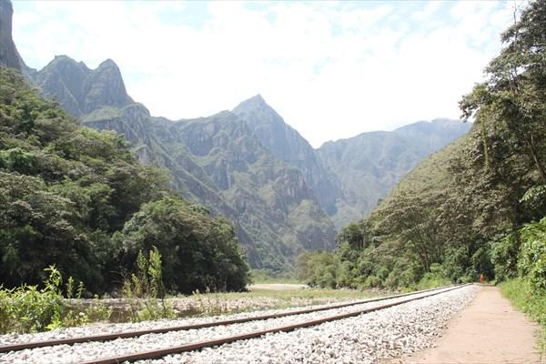 Дорога к Агуас-Кальентес