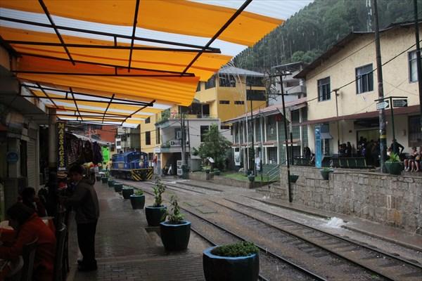 Агуас-Кальентес - город в горах