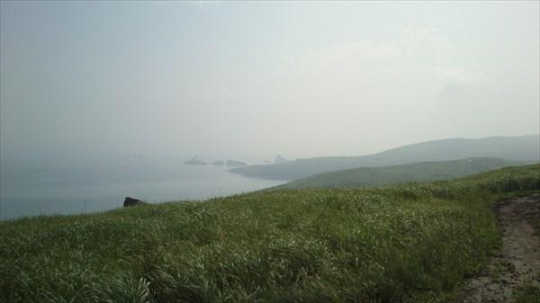 Полуостров Гаммово. Вид на бухту Астафьева