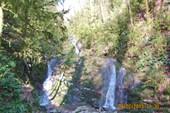 Водопад на ручье (приток Агвы)