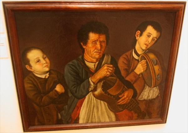 В музее эворы