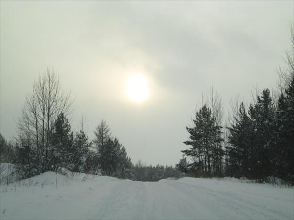 Дорога на Усть-Илимское море