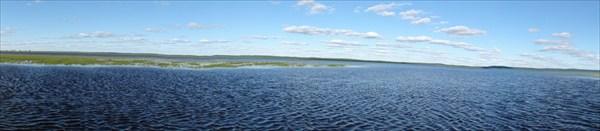 Панорама озера Пелымский Туман.