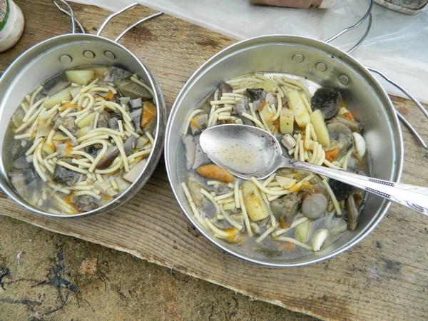 Грибной суп.