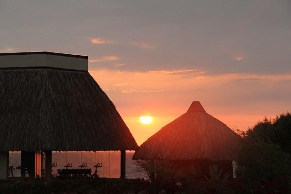 Закат в Пунта Сал