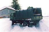 ГАЗ-66, разворот