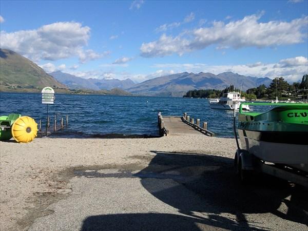 Озеро Ванака