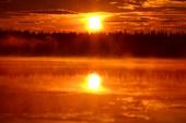 Закато-рассвет на Ингозере