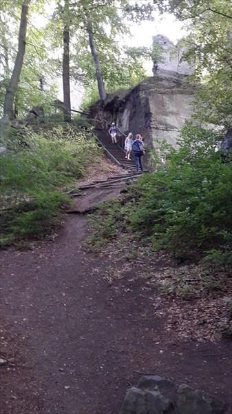 Развалины замка Девин
