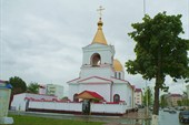 Воссозданный православный храм Архангела Михаила